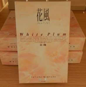 ㊹線香 花風  自然の香り白梅(大) 約180g 約25分